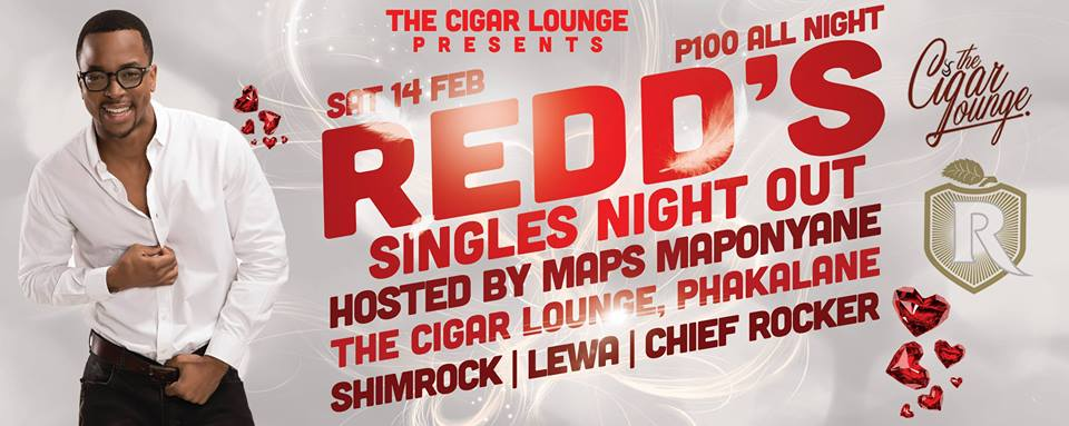 Photo of Redd's Presents Singles Night Out Hosted by Maps Maponyane..