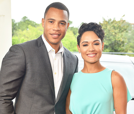 Photo of Empire Co-stars Grace Gealey And Trai Eyers Engaged