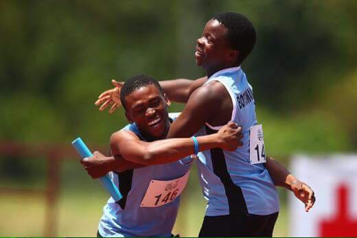 Photo of Botswana 4x100m Relay Team Bags Another Gold!