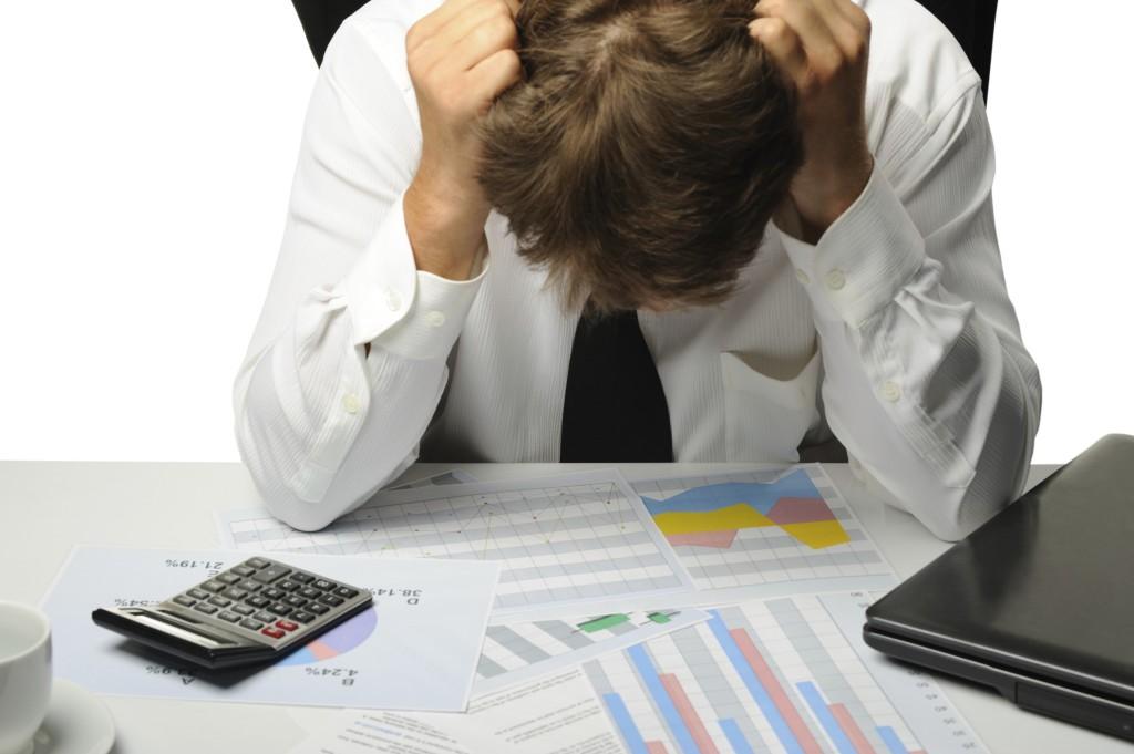 The businessman - bankrupt