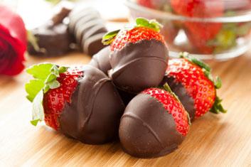chocolate-strawberries