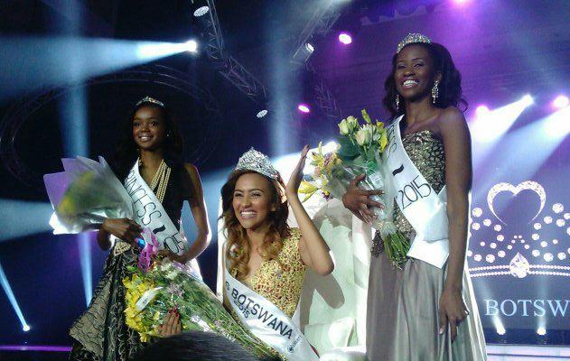 Photo of Seneo Mabengano Crowned Miss Botswana 2015!