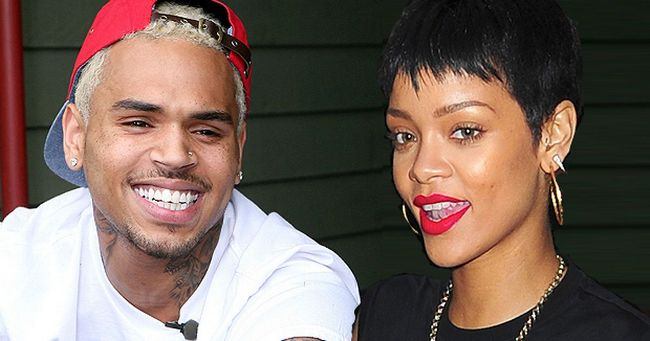Chris Brown and Rihanna main