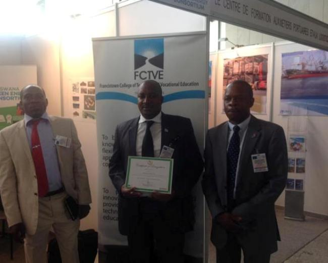 Photo of FCTVE Gets An Award In Addis Ababa