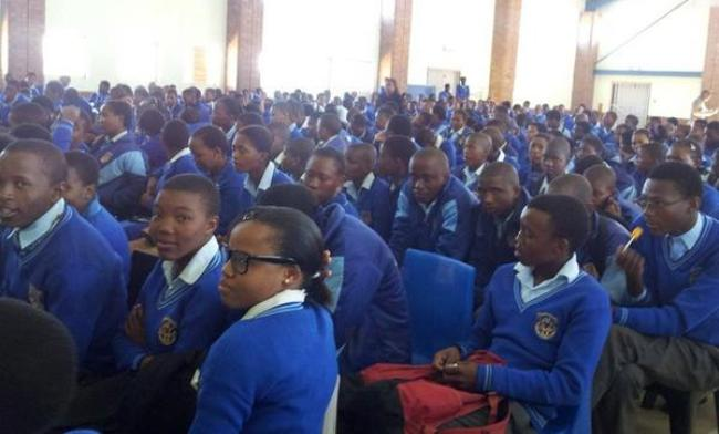 Photo of Matsha Students Accident Fund Account Set Up.