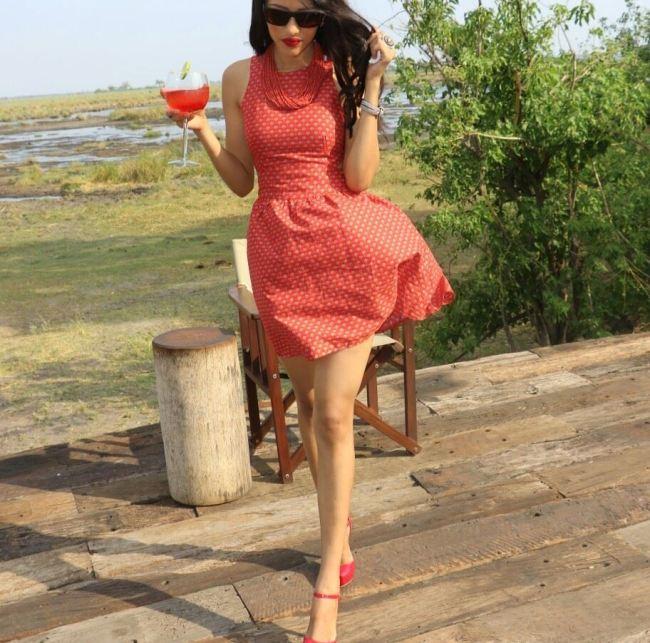 Photo of 10 Most Glamorous Pictures Of Miss Botswana Seneo Mabengano!