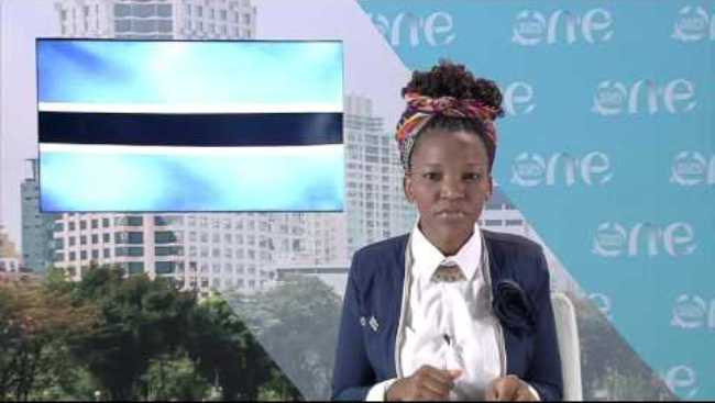 Photo of Tsholofelo Makes A Plea To The President At One Young World Summit