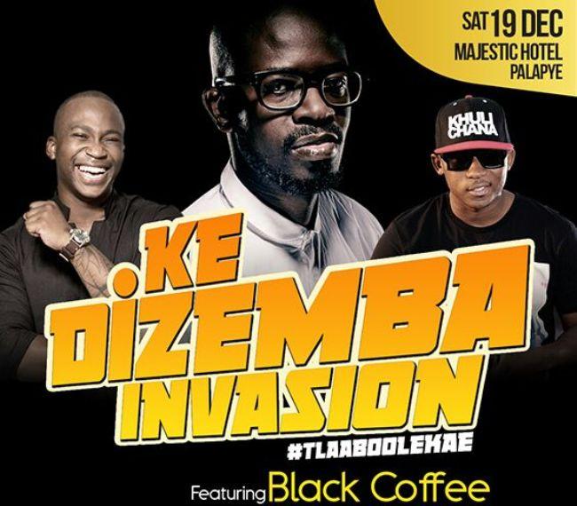 Photo of Ke Dezemba Invasion Brings Black Coffee & Charma Gal