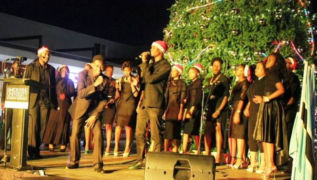 Photo of Limkokwing University Presents The Biggest Christmas Tree In Botswana