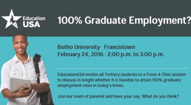 Photo of Join EducationUSA For A  Food-4-Thought Session On Graduates And Employment