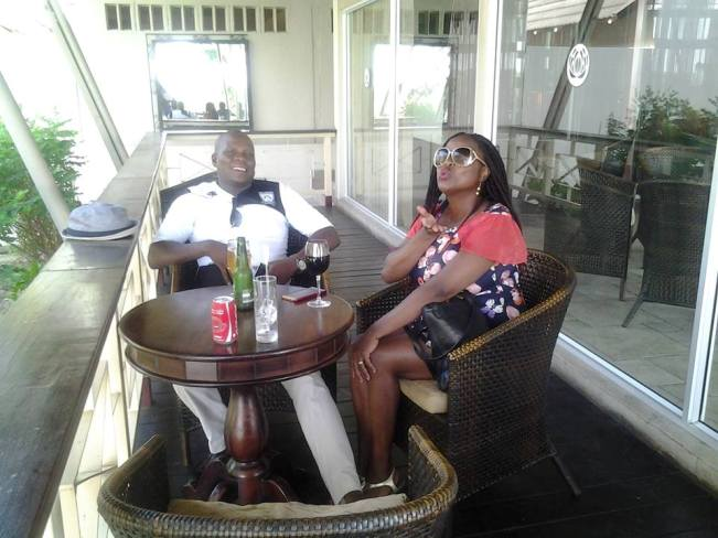Photo of Puna Gabasiane Keeps The Fire Of Love Burning With Her Husband!