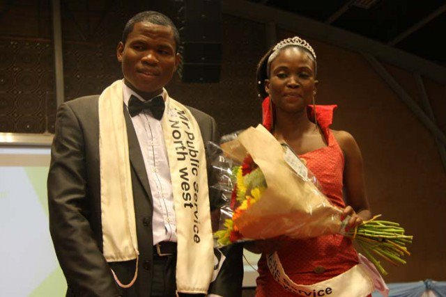 Photo of Mr And Miss Public Service North West Crowned.