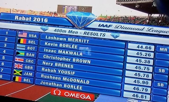 Photo of Makwala Gets Bronze Medal At IAAF Diamond League.