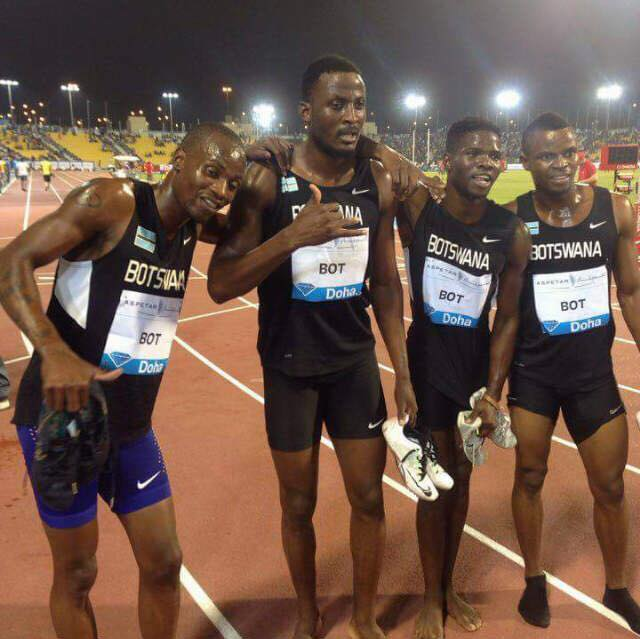 Photo of Botswana Relay Team Scoops 1st Position In Doha!