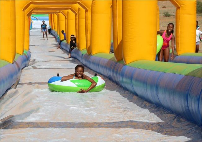 Photo of Slip And Slide Gaborone Reality