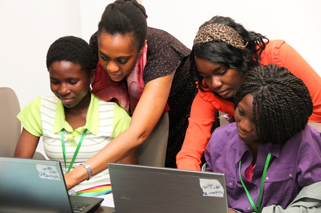 Photo of Emang Basadi Launches Digital Institute For Girls And Women.