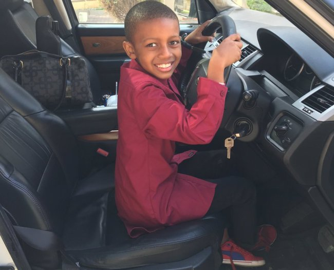 Photo of Vee And Kagiso's Son Turns 9!