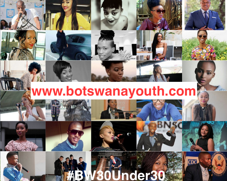 Photo of Botswana's Top 30 Under 30 Inspirational Youth In 2016