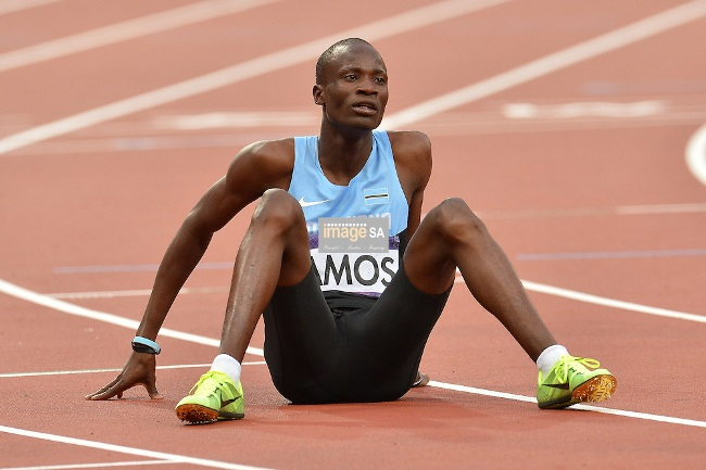 Photo of Olympics Shocker: Nijel Amos Is Out!