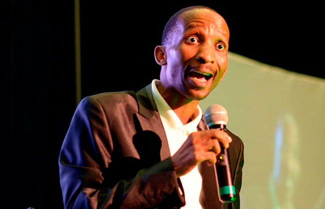Photo of Comedian Phenyo The Master Graces The Savanna Comics' Choice Awards
