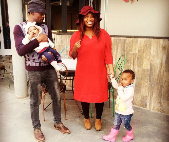 Photo of 5 Adorable Pictures Of Mogogi Gabonamong And His Family