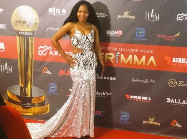 Photo of Nnunu Shares Her Red Carpet AFRIMMA Experience