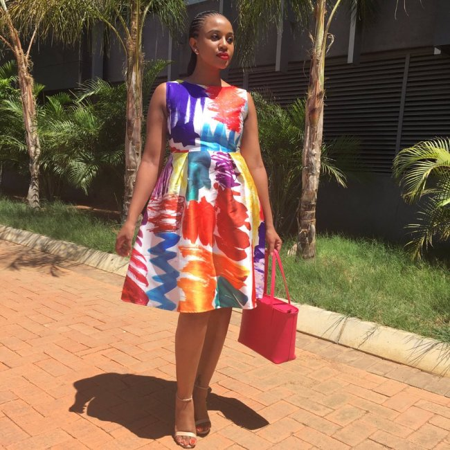 Photo of Kagiso Sento Shows Off Her Best Dresses!