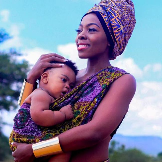 Photo of Samatha Mogwe Shares Adorable Pictures With Her Son