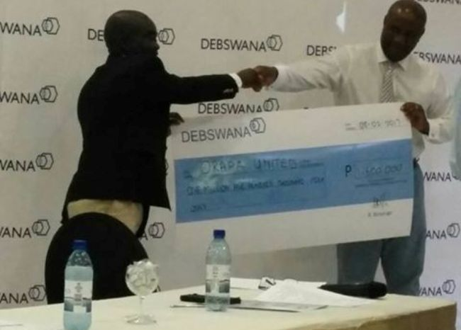 Photo of Orapa United FC Clinches A P1,5 000 000 Sponsorship For CAF Competition.