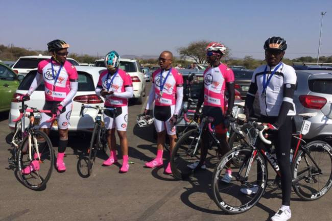 Photo of Team Chainring To Ride From Kasane To Gaborone For Cancer Awareness