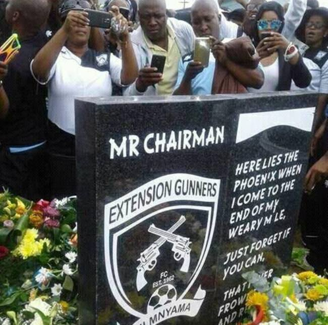 Photo of Supporters Bid Farewell To Extension Gunners Chairperson