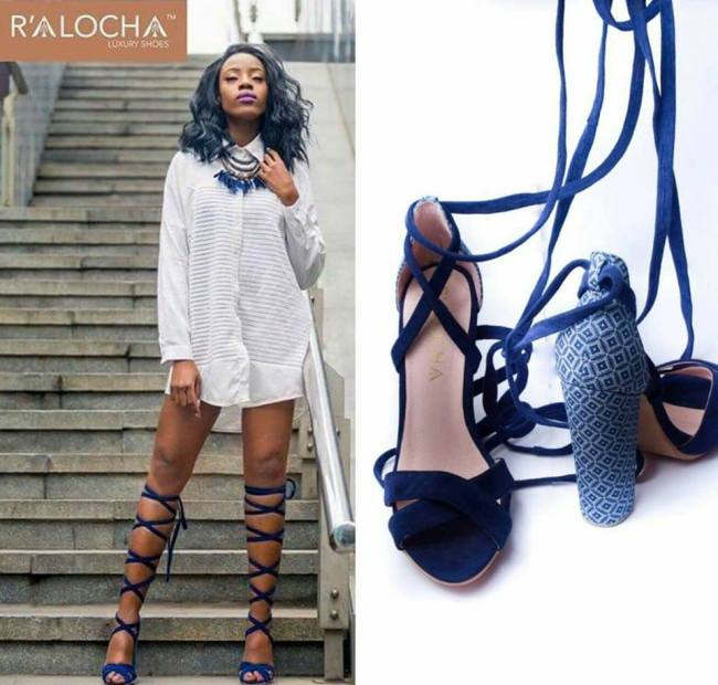 Photo of Inspirational: A Young Motswana Woman Takes On The Fashion Industry With Her Designer Shoes