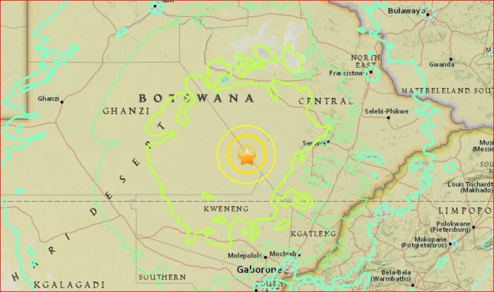 Photo of 6.5-Magnitude Tremor Hits Botswana