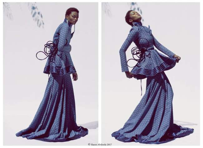 Photo of A Locally Designed Dress By iZaura To Be Displayed At Macy's Metro Center In The US