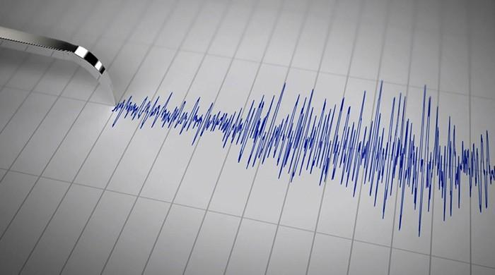 Photo of Earthquake Aftershock Early This Morning