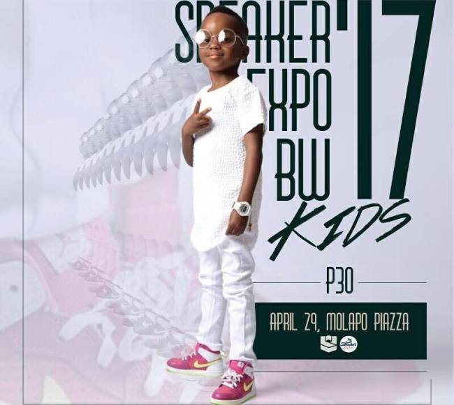 Photo of Mercy And Mapetla's Son Weno Is The Face Of Sneaker Expo BW 17 Kids