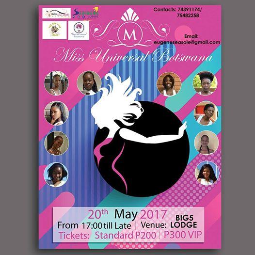 Photo of Miss Universal Botswana Beauty Pageant Tomorrow