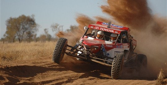 Photo of Team Toyota Won Again At The Desert Race For The Third Time In A Row