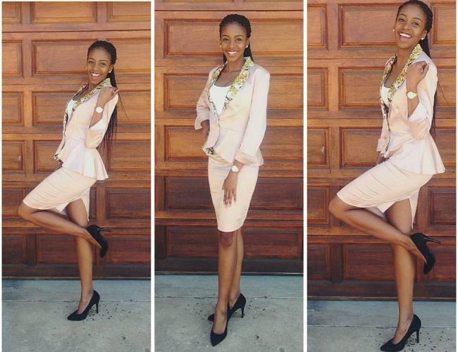 Photo of Pics! Thata Kenosi Shows Off Her Bae!