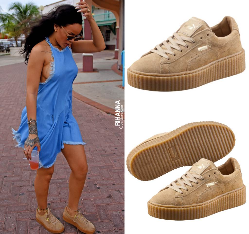 reputable site f6dc9 a9379 greece puma rihanna creeper fenty b6718 8963d