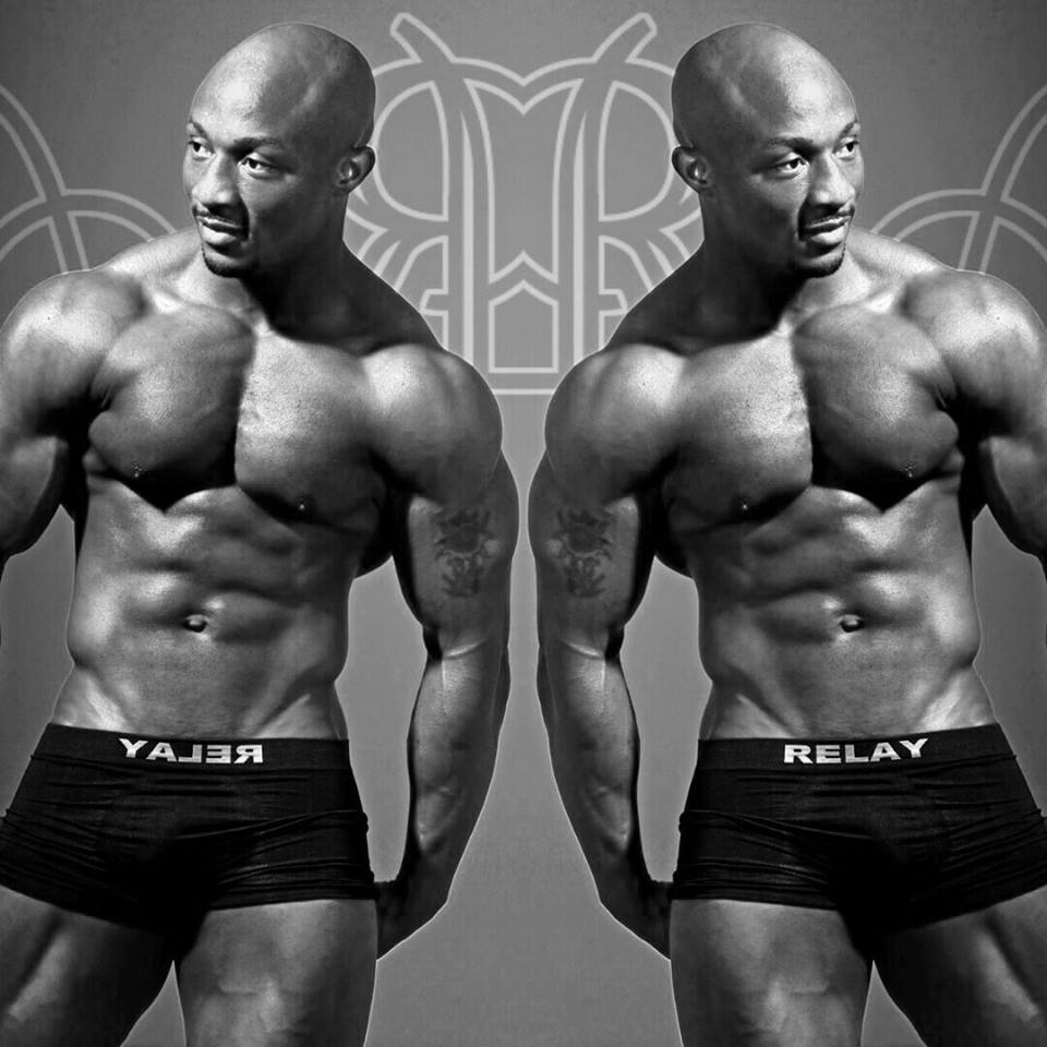 Photo of Local Body Builder Gontse Sechele Ranked Number 4 In The World
