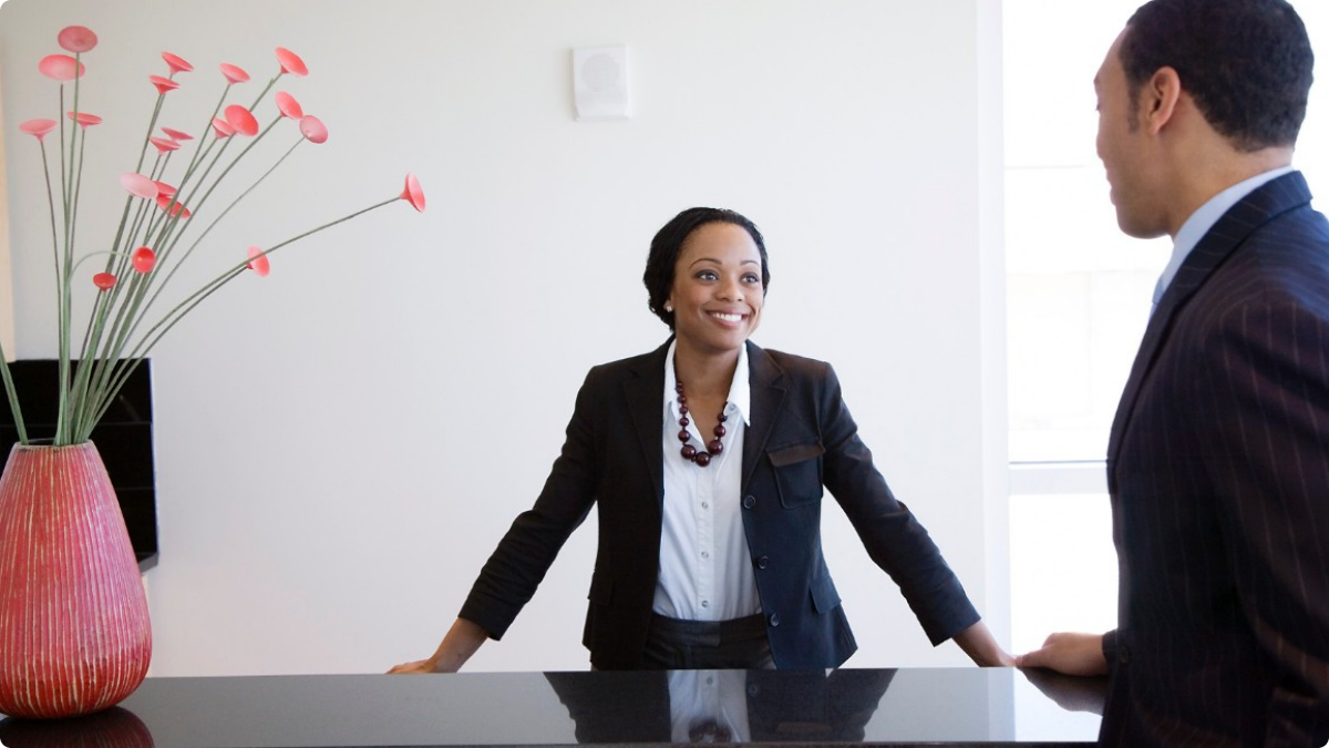 Photo of Vacancy-Receptionist Wanted At Mogobe Inc