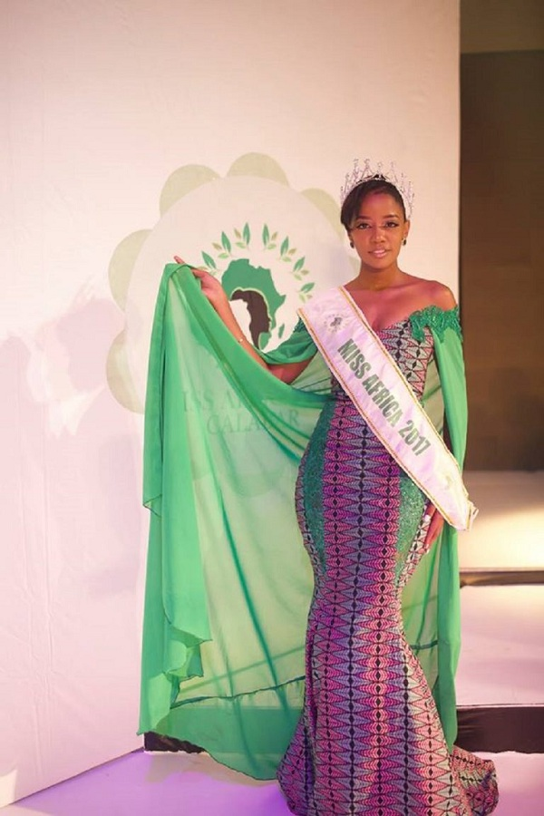 Photo of Gaseangwe Balopi  Wins Miss Africa 2017