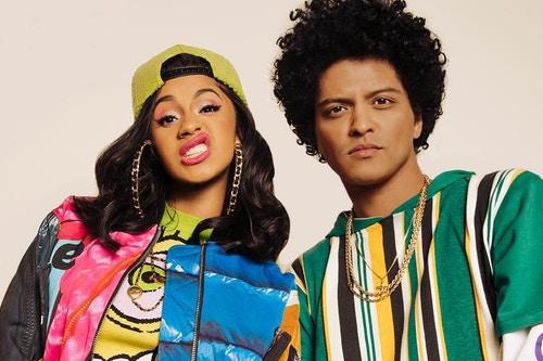 Photo of Cardi B And Bruno Mars Made The Splashiest '90s Music Video