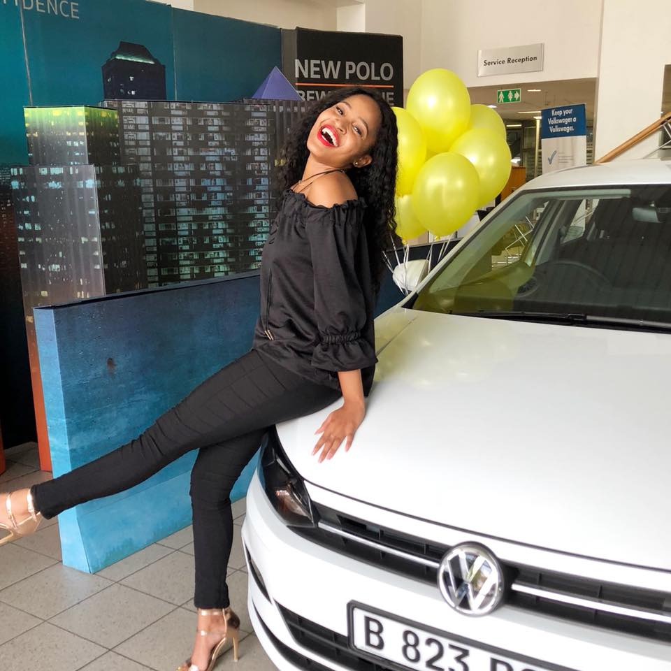 Photo of Tumie Nthutang Is The Face Of New Polo Botswana