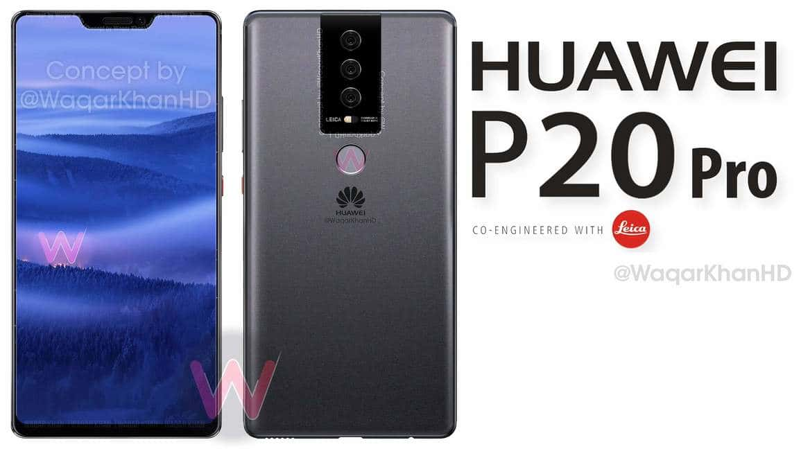 Photo of Huawei's Upcoming P20 Pro Might Be Even More Expensive Than The Galaxy S9