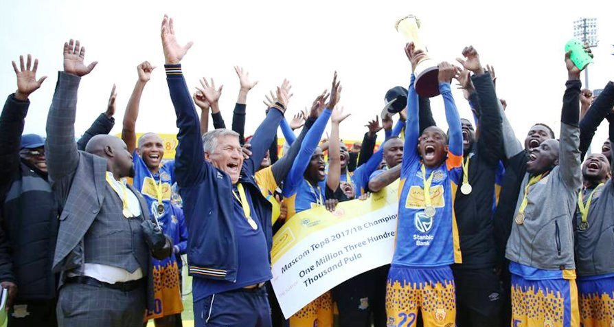 Photo of Township Rollers Are The 2018 Mascom Top 8 Champions