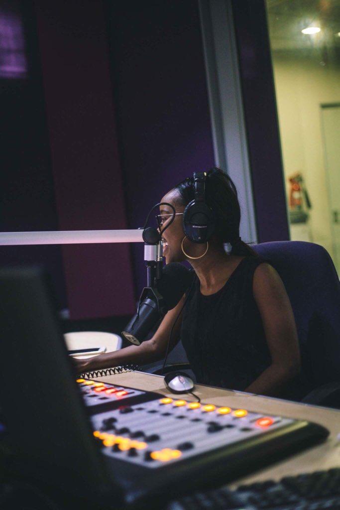 Photo of Rea enjoys radio