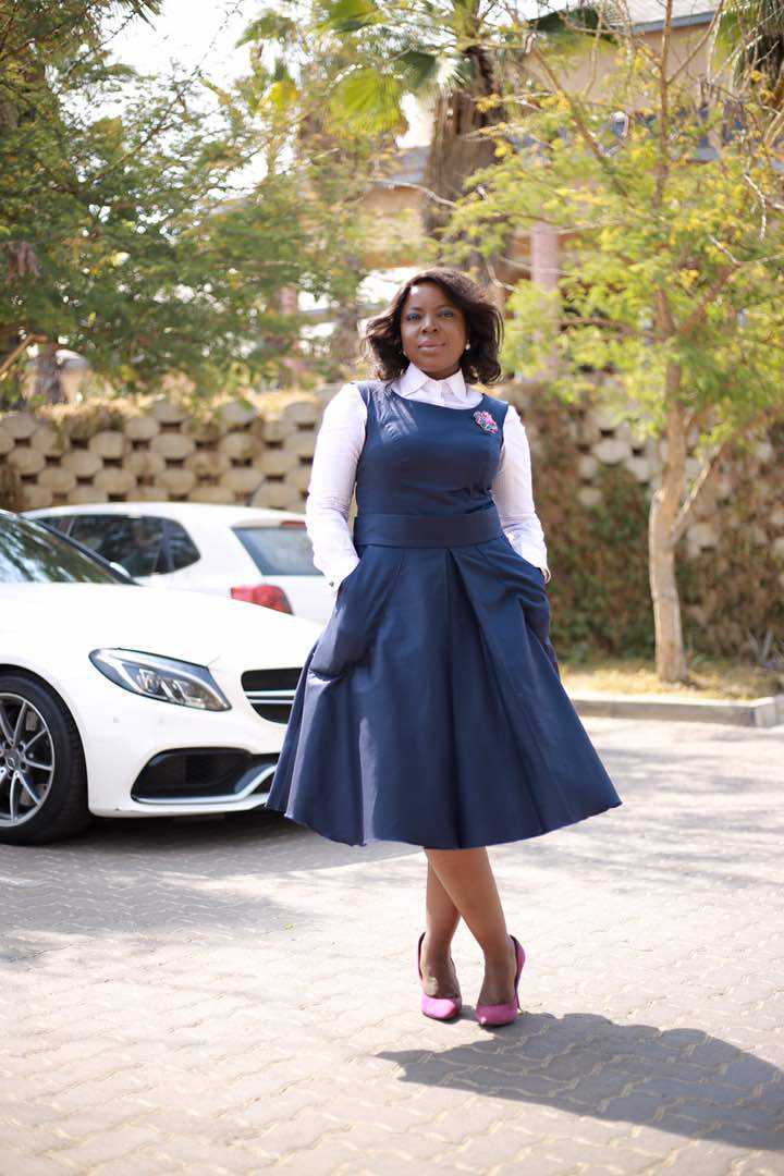 Photo of Thabie D designs does it big with Tshepo