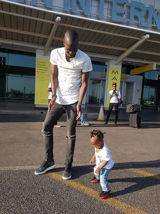 Photo of Nigel Amos and daughter, great daddy daugjter pair